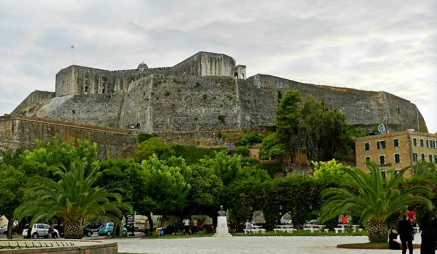 Достопримечательности острова Корфу: Новая крепость