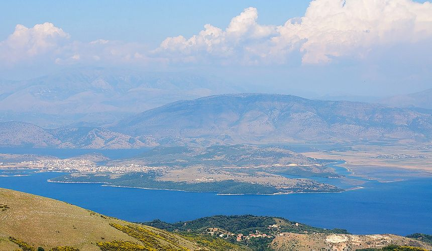 Достопримечательности Корфу: гора Пантократор