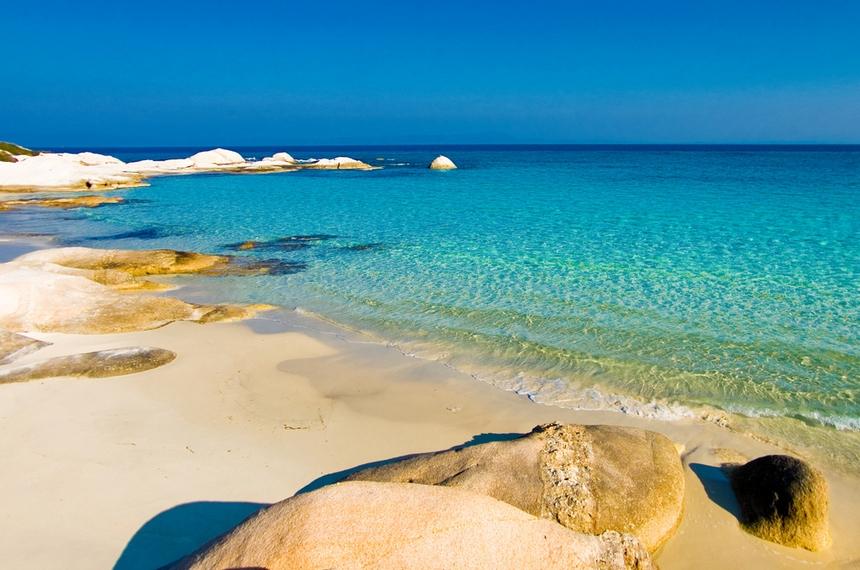 Пляжи Греции - отдых с детьми