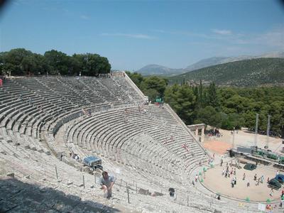 Экскурсия с детьми в Дион на отдыхе в Греции