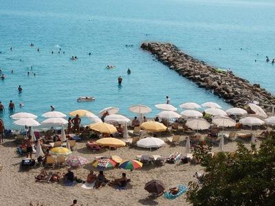 Пляж Паралия Катерини на отдыхе в Греции с детьми