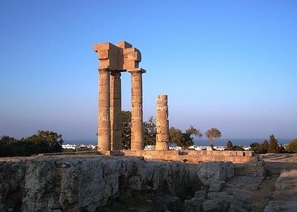 Древние достопримечательности Родоса