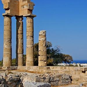 Достопримечательности Греции - Акрополь Родоса