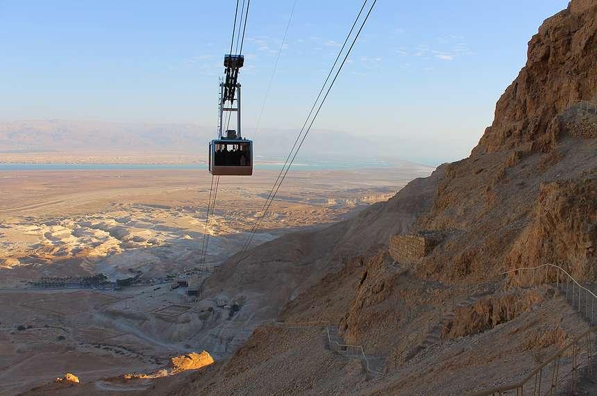 отдых на Мертвом море - национальный парк Масада