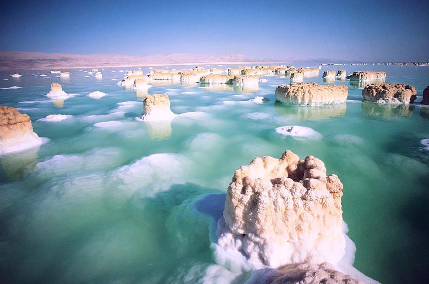 Лечение, омоложение и профилактика минералами Мертвого моря