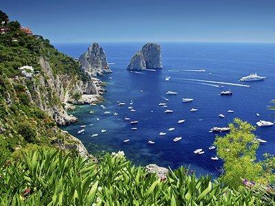 Пляжный отдых в Капри