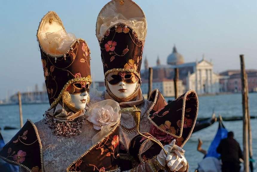 карнавальные венецианские маски