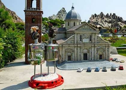Тематический парк в Римини «Италия в миниатюре»