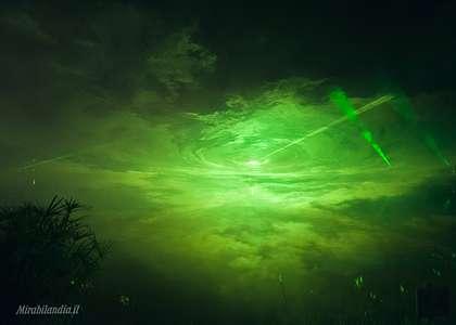 Лазерные шоу Парк развлечений Мирабиландия