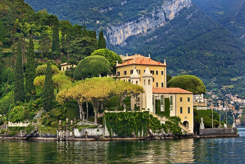 Озерные курорты Италии – озеро Комо