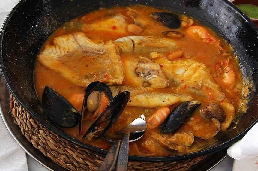 Рыбное меню канарской кухни
