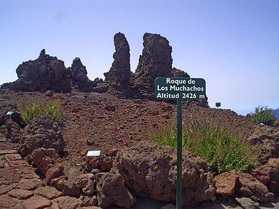 Тенерифе: тропа Рока-де-лос-Мучачос