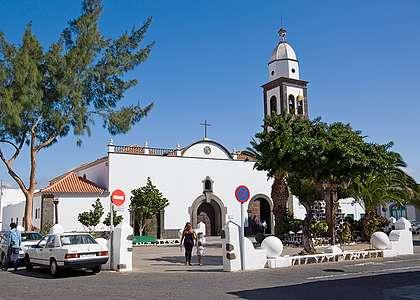 Лансароте: церковь Арресифе