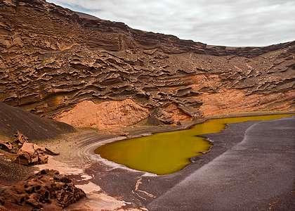 Лансароте - соленые озера