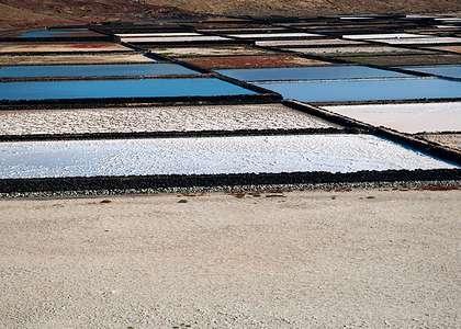 Лансароте: добыча соли