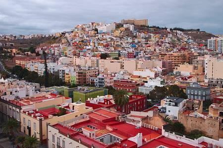 Лас-Пальмас - столица Гран-Канария