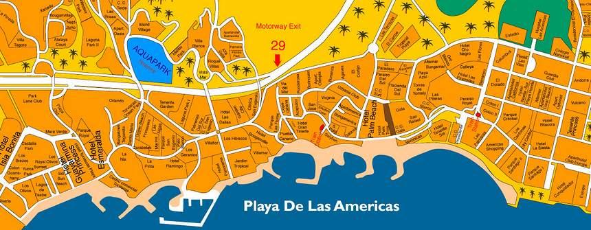 Плайя де лас Америкас