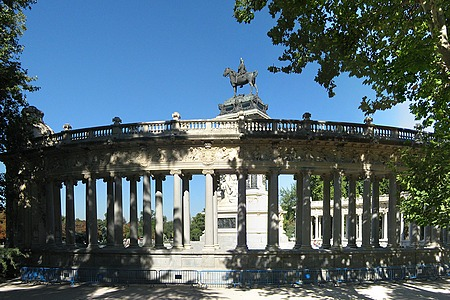 Достопримечательности Мадрида - парк Буэн-Ретиро