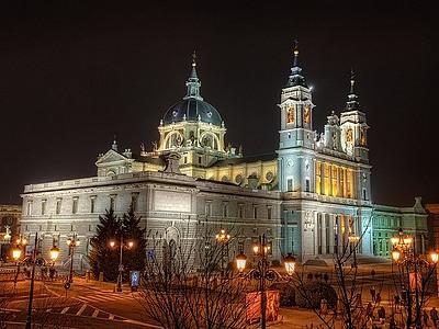Достопримечательности Мадрида - Кафедральный Собор Альмудена