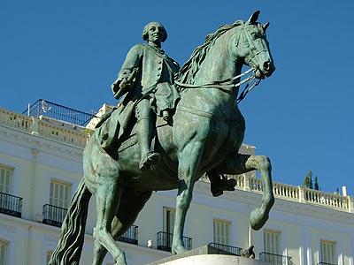 Достопримечательности Мадрида - площадь Пуэрта-дель-Соль