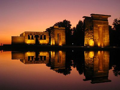 Достопримечательности Мадрида - храм Дебод