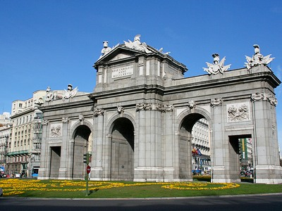 Достопримечательности Мадрида - Ворота Алькала