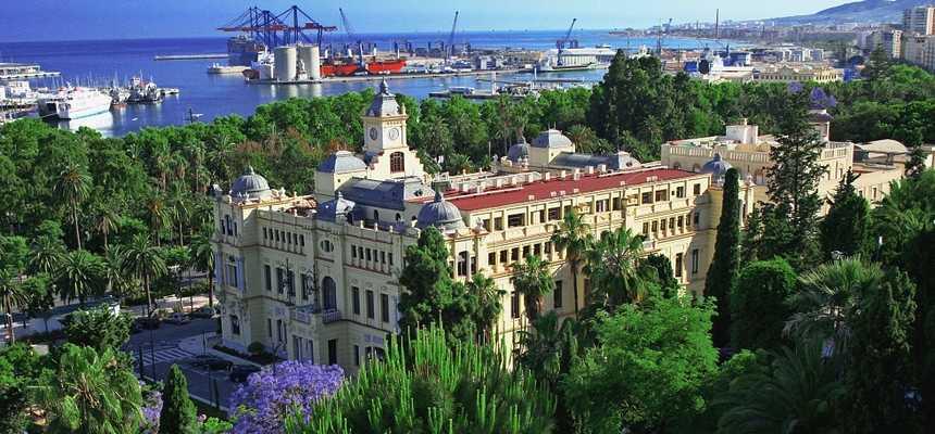 Малага: городская ратуша