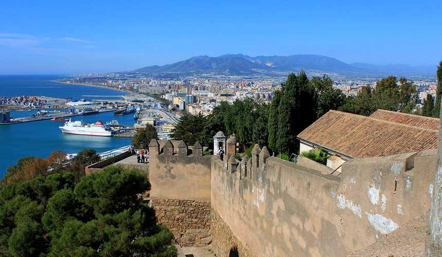 Крепость Гибральфаро