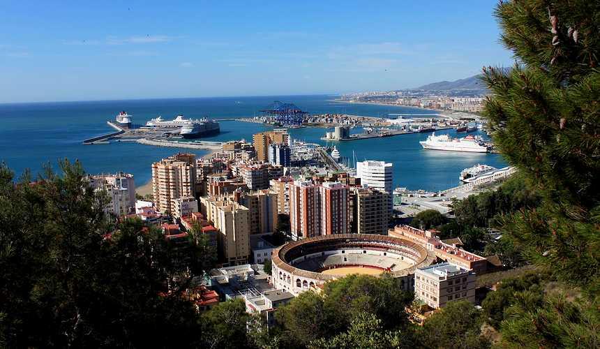 Малага: арена для корриды