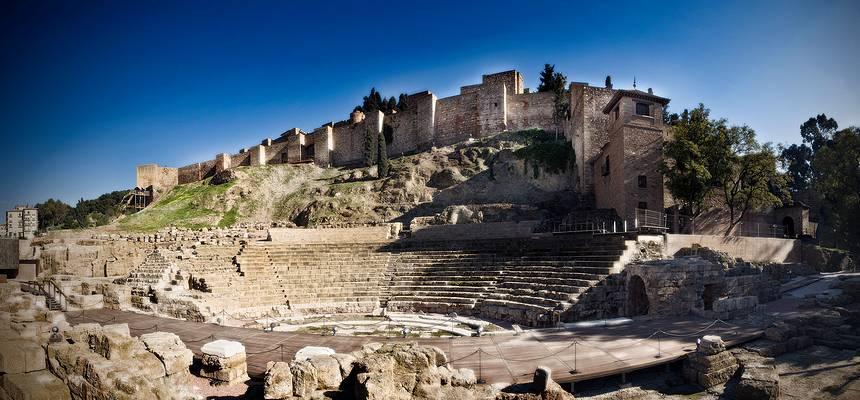 Малага: Римский театр