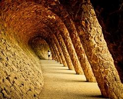парк Гуэля в Барселоне