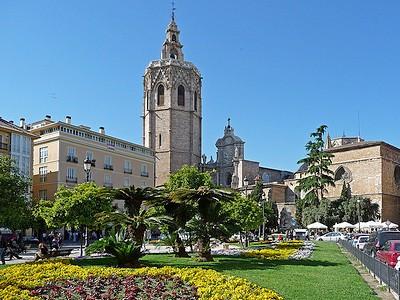 Достопримечательности Валенсии - площадь Королевы