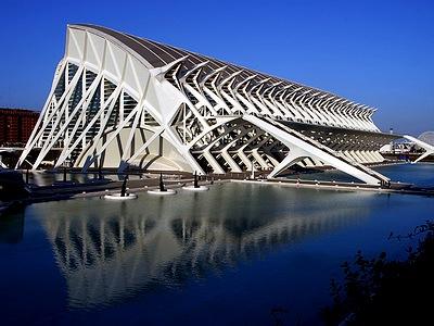 Достопримечательности Валенсии - научный музей принца Филипе