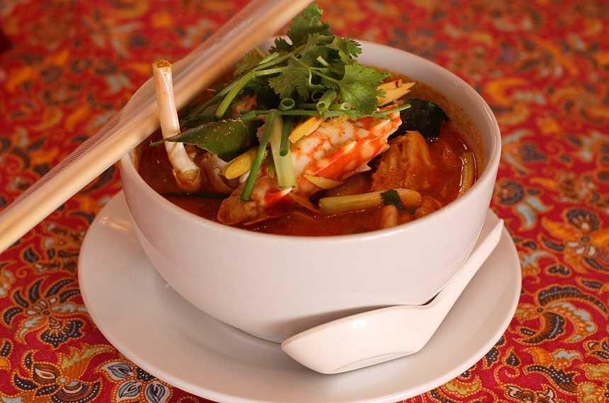 блюда национальной тайской кухни