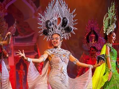 Шоу трансвеститов Таиланд