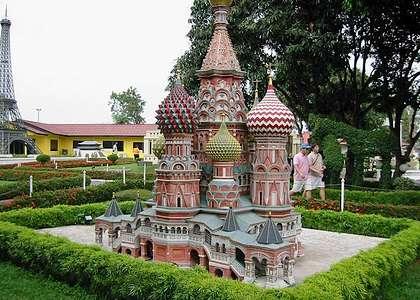 Достопримечательности Паттайи: парк Мини-Сиам