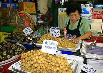Фруктовые рынки Таиланда