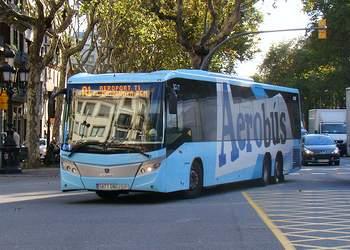 автобус аэропорт Барселоны в город