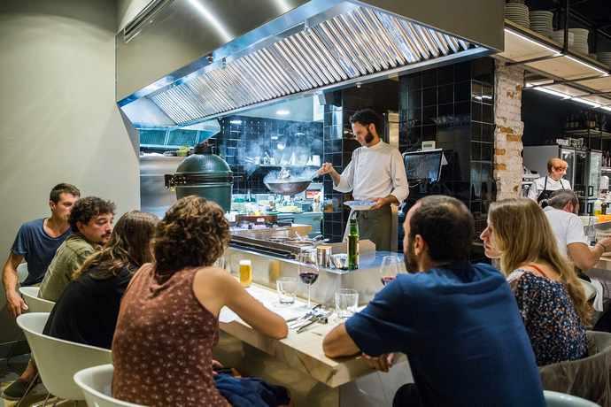 ресторан морепродуктов в таррагоне испания
