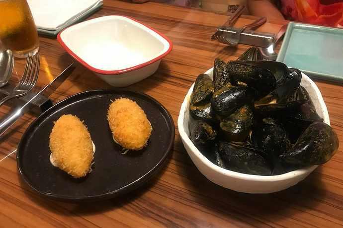 ресторан морепродуктов в таррагоне