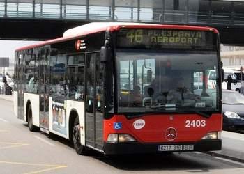 автобус 46 аэропорт Барселона