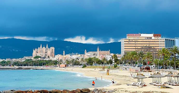 пляж Can Pere Antoni Mallorca