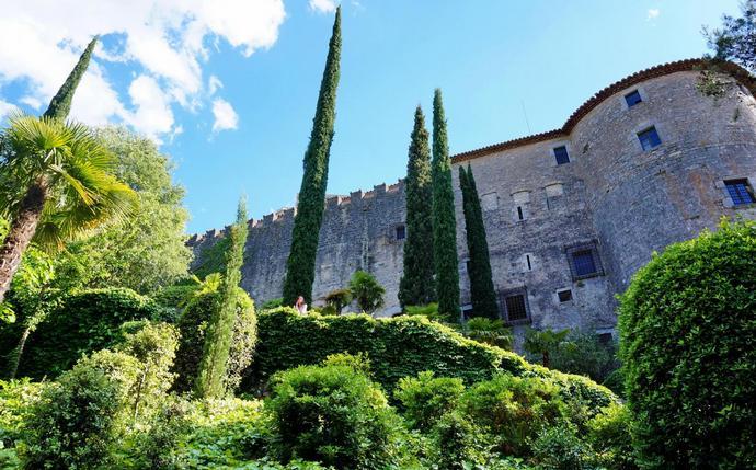достопримечательности Жироны: Крепостные стены