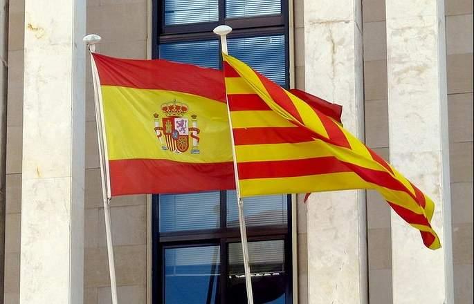 достопримечательности и флаги Таррагоны