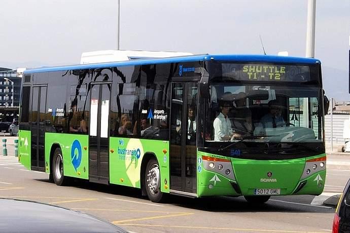 shuttle bus barcelona el prat