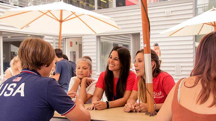летний языковой лагерь для детей в испании