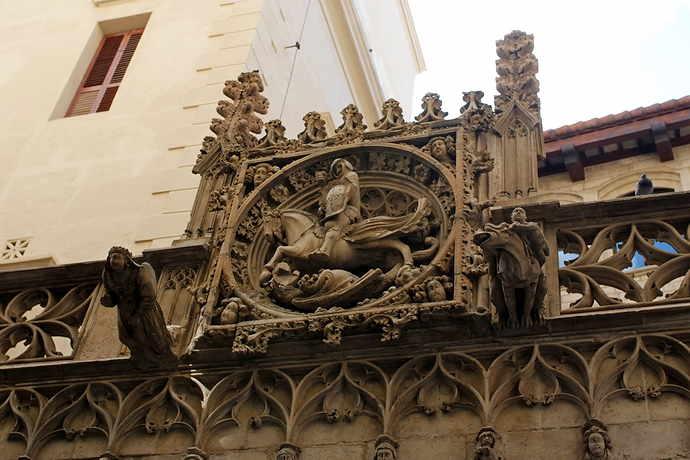 достопримечательности Барселоны Готический квартал
