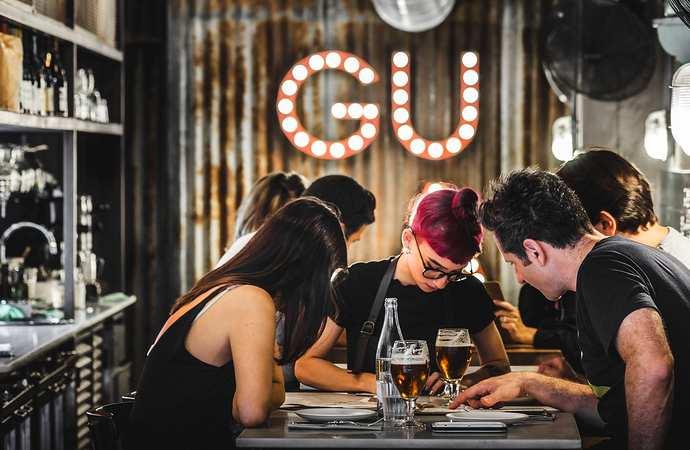 тапас бар Gula в Барселоне