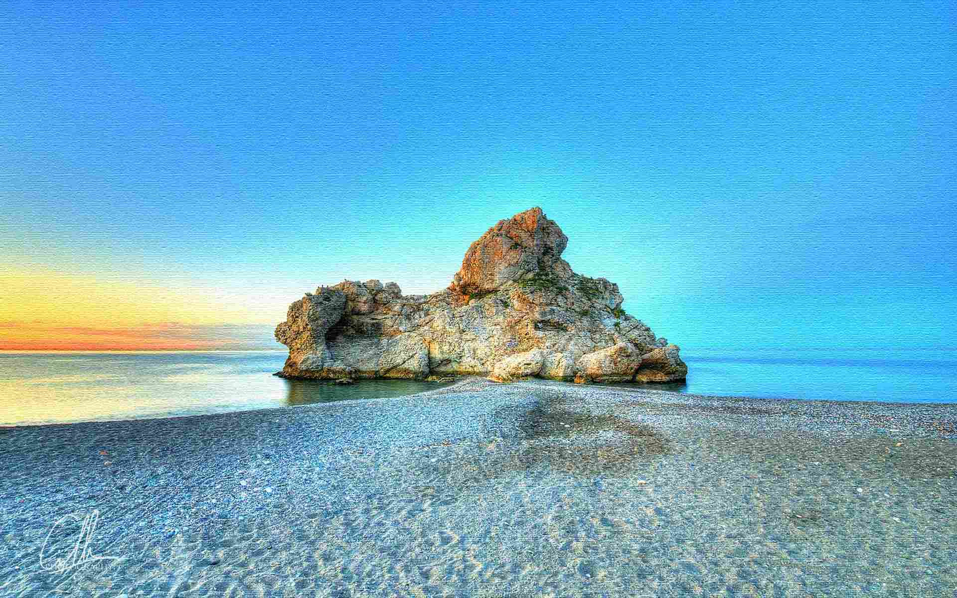 пляжи Малаги