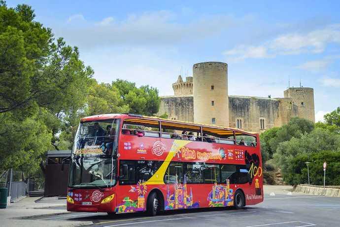 туристический автобус майорка